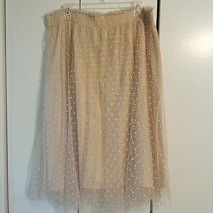 Disney x Lauren Conrad Snow White Tulle Skirt